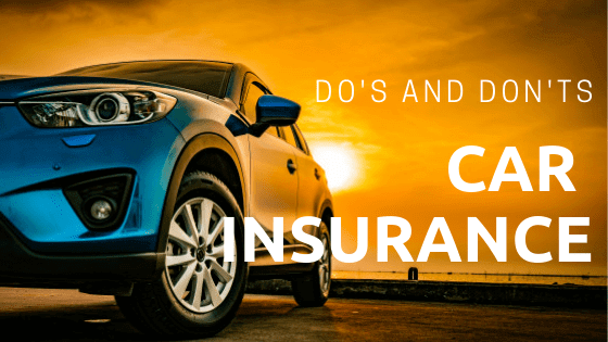 Do's & Don'ts for Car Insurance If You are a College Student