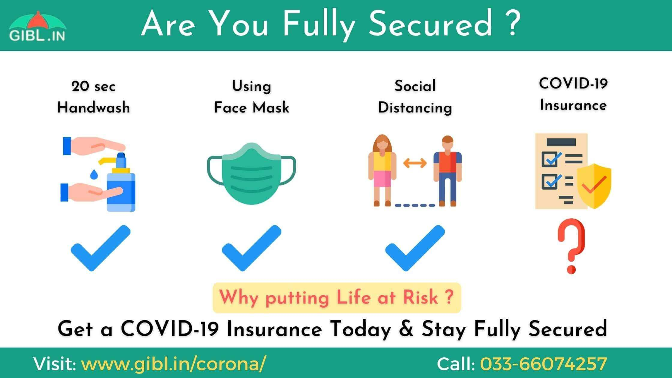 Are you fully secured with COVID19